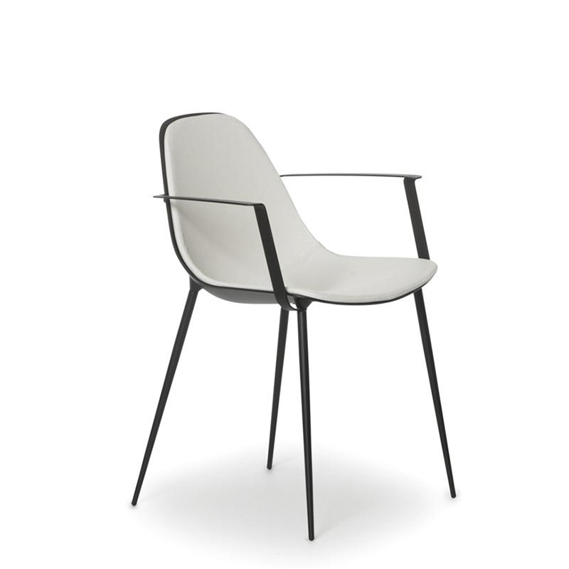 Fauteuil design en aluminium MARGUERITE de JOLI.