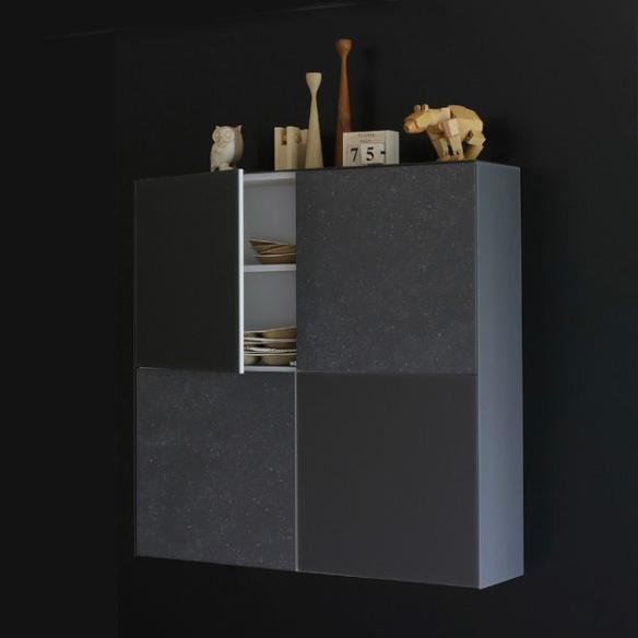 Cette Armoire design modèle CUBE 40 de JOLI confectionnée en matilux