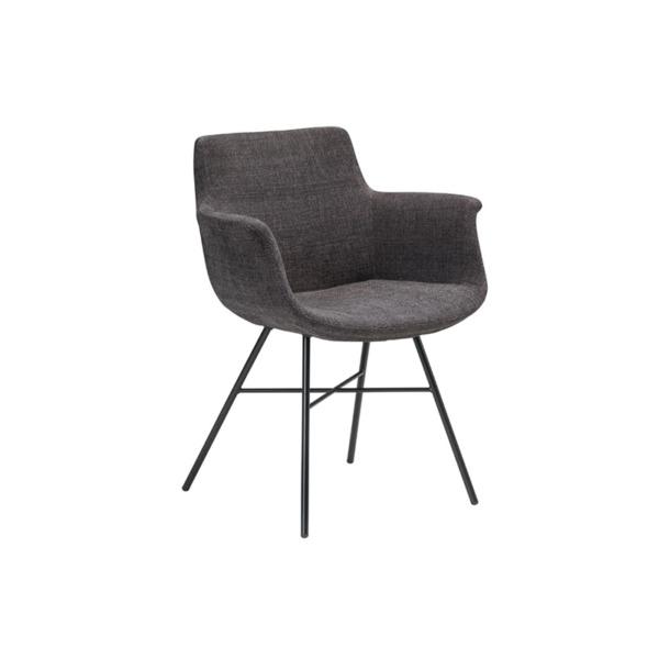 Cette chaise design tissu de la marque JOLI est baptisée CHAGALL.