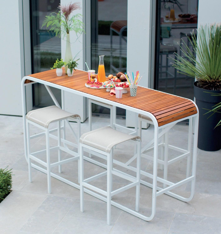 Table Tandem avec tabouret de la marque EGO Paris