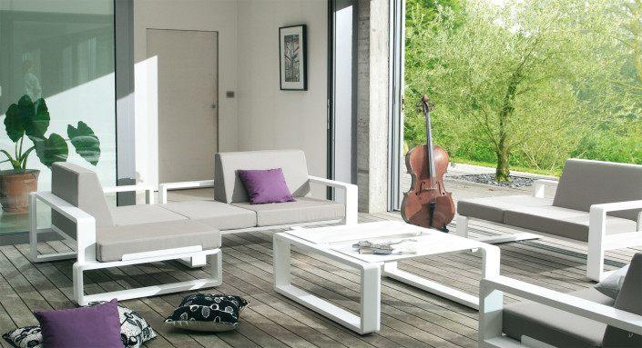 Fauteuil modulable et table Kama de la marque EGO Paris