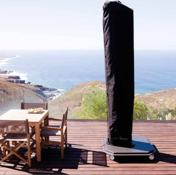 parasols grande taille de luxe resistants au vent fort. Black Bedroom Furniture Sets. Home Design Ideas