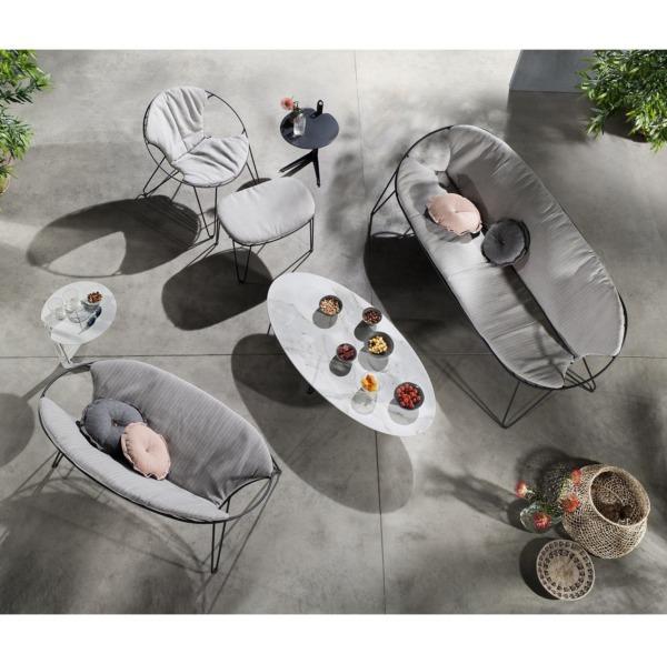 Chaise et fauteuil Wire de la marque Joli