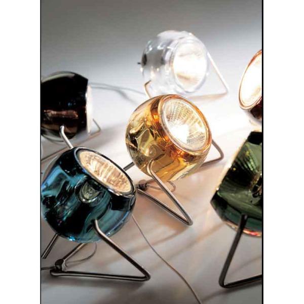 Lampe Beluga cristal LED de la marque Fabbian