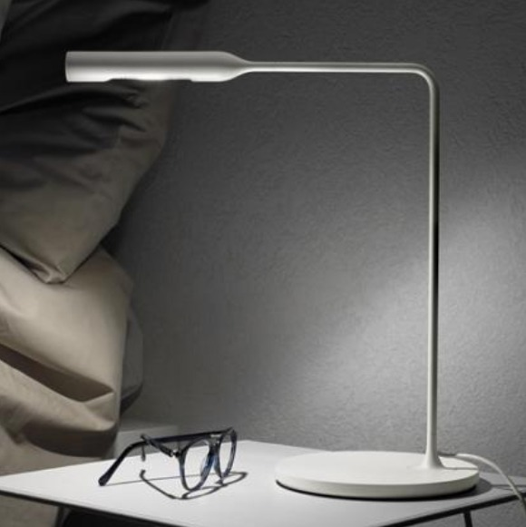Lampe Flo Led De Lumina Ideal Comme Lampe De Chevet