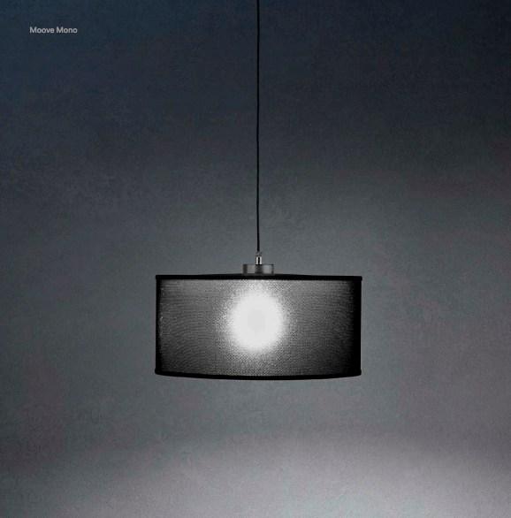 Lampe suspension Moove de la marque Lumina sans abat-jour