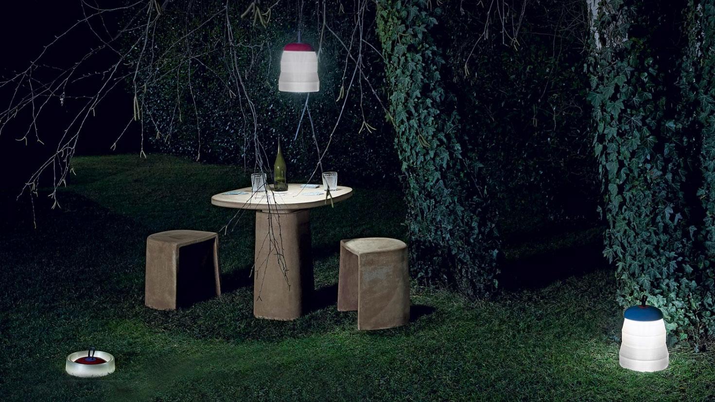 Lampe Cri-Cri d'extérieur sans fil de la marque Foscarini