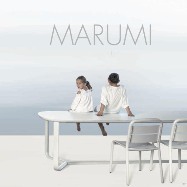 Table Marumi de la marque EGO Paris